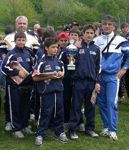 Die Fussballmannschaft beim Pfingstturnier in Weyarn