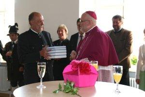 Erzbischof Reinhard Marx zu Besuch in Weyarn
