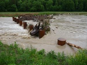 Hochwasser in Naring