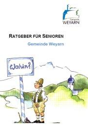 Seniorenratgeber der Gemeinde Weyarn