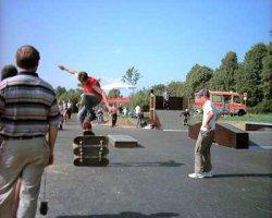 Skaterplatz in Weyarn